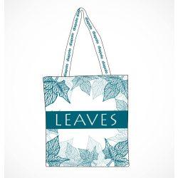 Einkaufstasche-Leaves 1