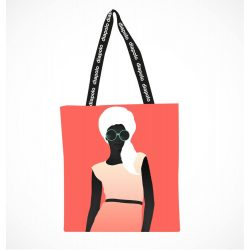 Einkaufstasche-Woman