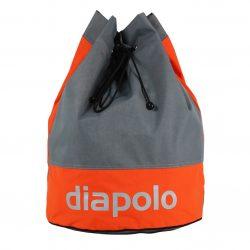 Gym Bags Gray Orange