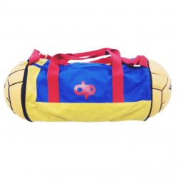 Wasserball Rucksack - rot-gelb-royalblau