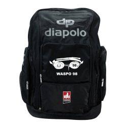 WASPO 98 - Rucksack Space schwarz