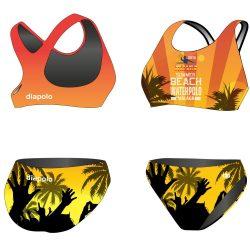 Bikini-HWPSC Malaga HandsUp mit breiten Trägern