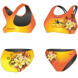 Bikini-HWPSC Malaga Vanilla mit breiten Trägern