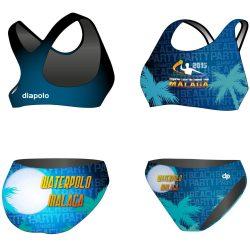 Bikini - HWPSC Malaga Night mit breiten Trägern