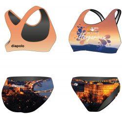 Bikini - HWPSC BUDAPEST mit breiten Trägern