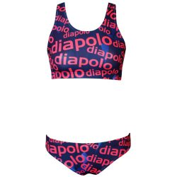 Bikini-Diapolo Design 2 mit breiten Trägern