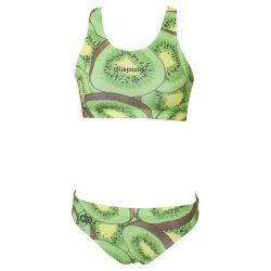 Bikini - Kiwi Fruit mit breiten Trägern