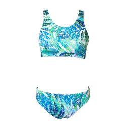 Bikini - Leaves mit breiten Trägern