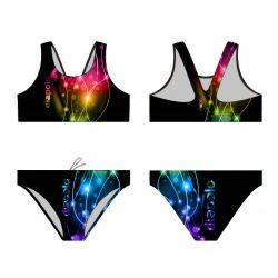 Bikini-Lightcolor mit breiten Trägern