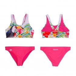 Bikini-Toucan mit breiten Trägern