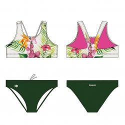 Bikini-Orchid mit breiten Trägern