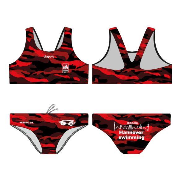 """WASPO 98 Bikini """"Dorado"""" mit breiten Trägern Design1"""