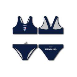 Hamburg Poseidon-Bikini mit breiten Trägern