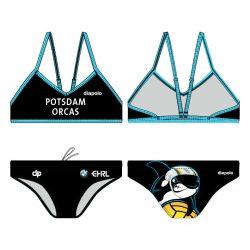 "ORCAS-Damen Sportbikini ""Crux"""