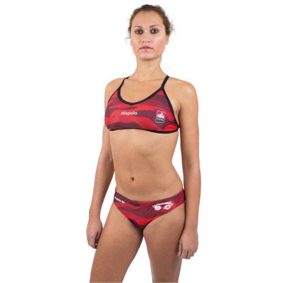 "WASPO 98 Bikini ""Crux"" mit dünnen Trägern Design2"