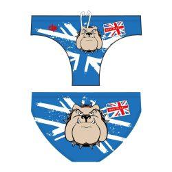 Jungen Schwimmhose - Bulldog 1 blau