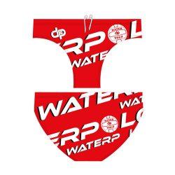Jungen Schwimmhosen - WaterPolo Red