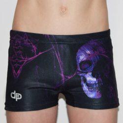 Jungen Mini Boxer-Purple Skull