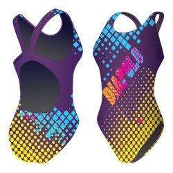 Mädchen Schwimmanzug - Diapolo mit breiten Trägern