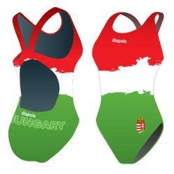 Mädchen Schwimmanzug - HUN 2 mit breiten Trägern