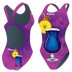 Mädchen Schwimmanzug - Cocktails 2 mit breiten Trägern