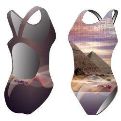Mädchen Schwimmanzug - Egypt mit breiten Trägern