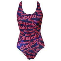 Mädchen Schwimmanzug-Diapolo Design 2 mit breiten Trägern