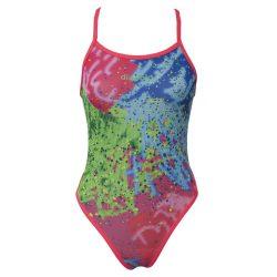 Mädchen Badeanzug - Colorful 2 mit dünnen Trägernn