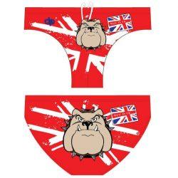 Herren Schwimmhose-Bulldog 1-rot