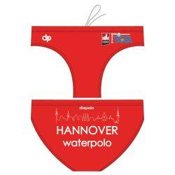 Waspo Hannover - Herren Schwimmhose rot