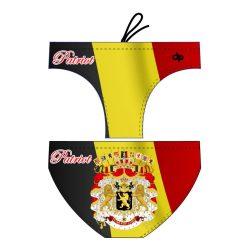 Herren Wasserballhose - Belgium Patriot