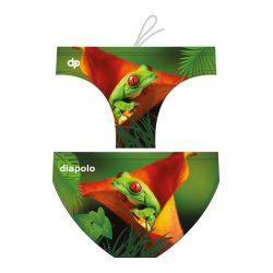 Herren Wasserballhose - Frog on the Leaf