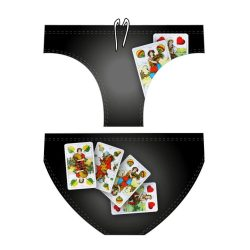 Herren Wasserballhose - Diapolo Hungarian cards