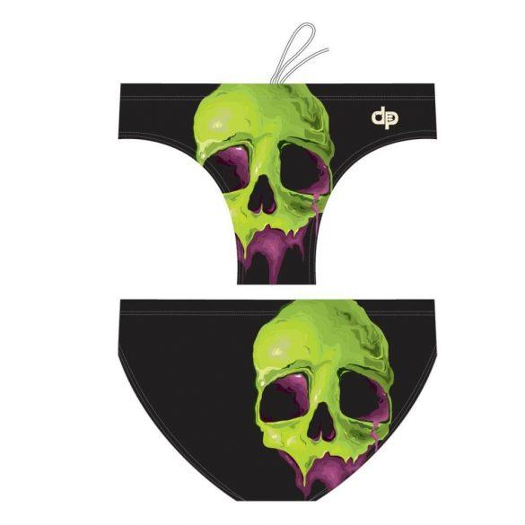 Halloween skull face 2
