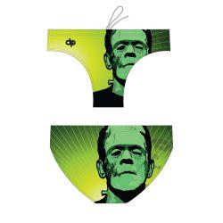 Herren Wasserballhose - Frankenstein 2 mit breiten Trägern