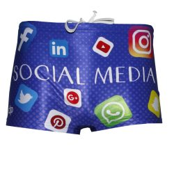 Herren Mini Boxer-Social media
