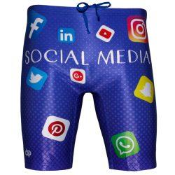 Herren Bermuda Boxer-Social media