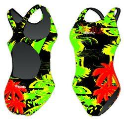 Damen Schwimmanzug - Jamaica mit breiten Trägern