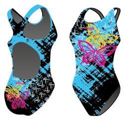 Damen Schwimmanzug - Butterfly mit breiten Trägern