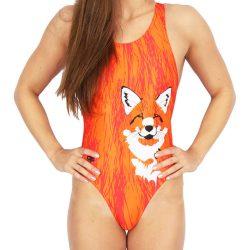 Damen Schwimmanzug - Fox mit breiten Trägern