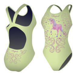 Damen Schwimmanzug-Unicorn 4 mit breiten Trägern