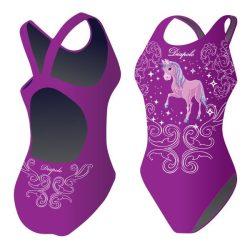 Damen Schwimmanzug-Unicorn 2 mit breiten Trägern