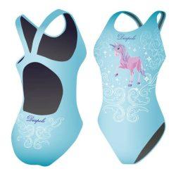 Damen Schwimmanzug-Unicorn 1 mit breiten Trägern
