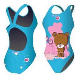 Damen Schwimmanzug-Little bear mit breiten Trägern