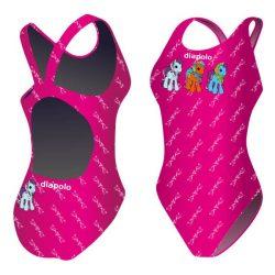 Damen Schwimmanzug-Pony mit breiten Trägern