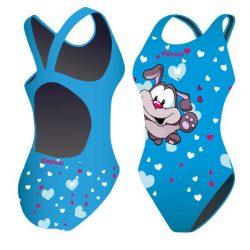 Damen Schwimmanzug-Puppies mit breiten Trägern