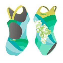 Damen Schwimmanzug - Bird mit breiten Trägern
