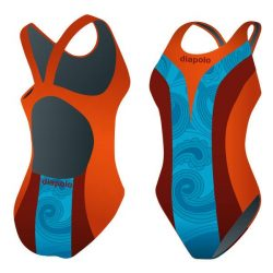 Damen Schwimmanzug-Khálo 1 mit breiten Trägern