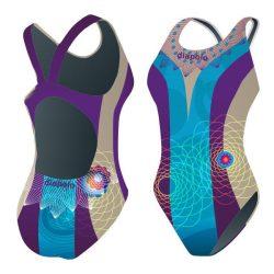 Damen Schwimmanzug - Kháló 4 mit breiten Trägern