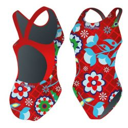 Damen Schwimmanzug-Kháló 5 mit breiten Trägern